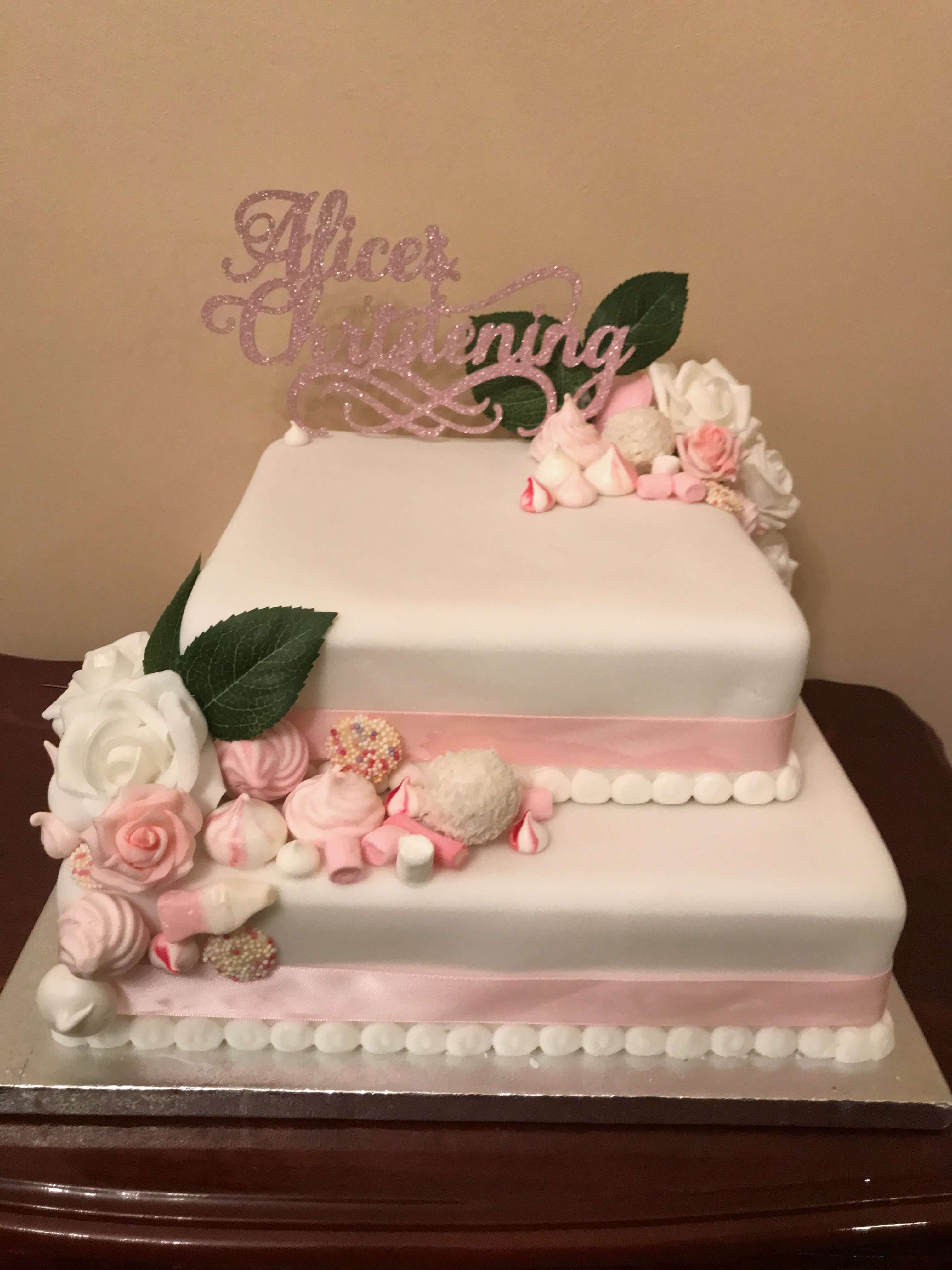 wedding cake to decorate yourself undecorated white iced sponge cake to decorate yourself 26285