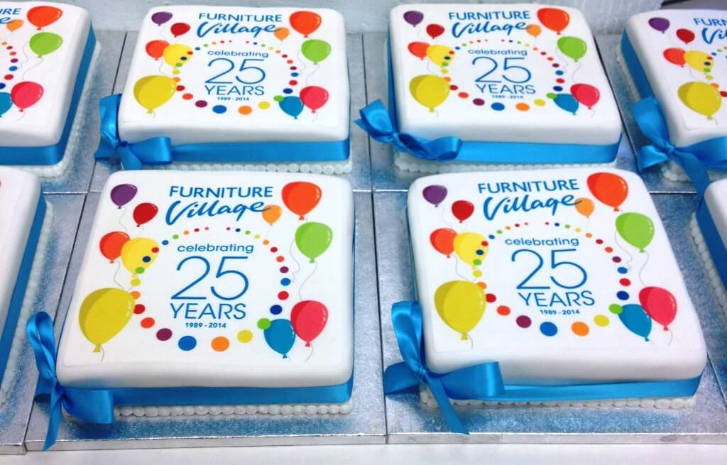 Corporate Cupcakes Branded Cakes Personalised Delivered Next Day