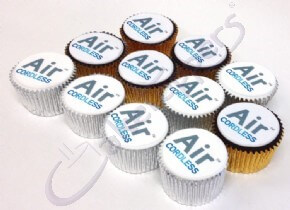 Logo Cupcakes for Air Cordless