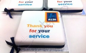 Thank You for Your Service Corporate Cakes for Aldi