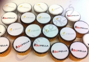 T3 Lead Logo Cupcakes for AdTech