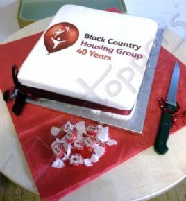 Black County Housing Group Cake