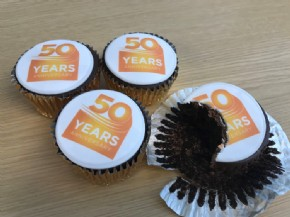 50th Anniversary Cupcakes for The Delivery Group