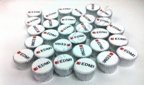 Logo cupcakes for EDMI