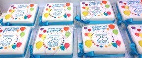 Furniture Village Birthday Cakes - Celebrating 25 Years