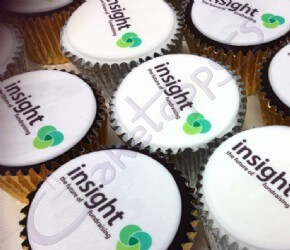 Insight CCI Logo Cupcakes