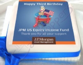 JP Morgan Corporate Celebration Cake