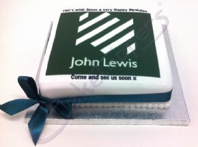 John Lewis Happy Birthday cake