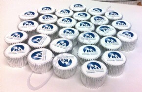 K2 Medical Systems Logo Cupcakes
