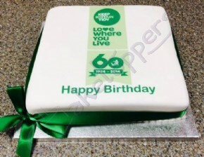 Keep Britain Tidy Logo Cake