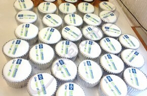 Knorr Bremse Logo Cupcakes