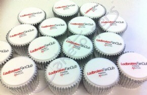 Ladbrokes Fan Club Logo Cupcakes