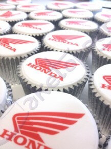 Honda cupcakes at the Motorcycle Live Show 2013