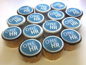 One HR Mixed Logo Cupcakes