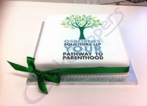 A special cake for Osborne Solicitors