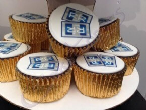Logo Cupcakes for the Special Educational Needs Show