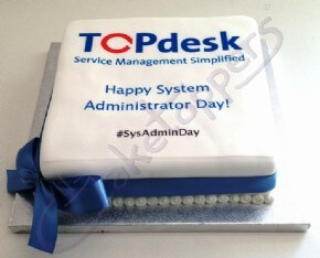 Top Desk Celebration Cake