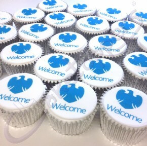 Welcome cupcakes for Barclays