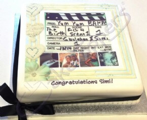 Customer Congratulations Cake