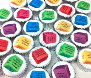 Corporate cupcakes for Nexus Rental