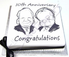 Caricature cake for Leasedrive