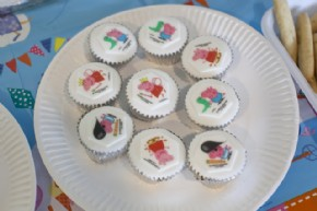 Lillt's Little Learners tried our cupcakes topped with Peppa Pig sugar-decorations