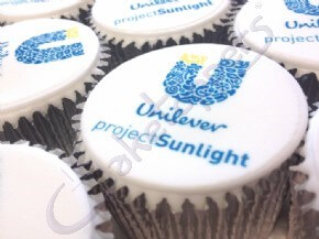Launch cupcakes for Unilever Project Sunlight