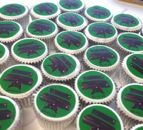 Cupcakes for the Xbox One launch