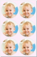Edible Photo Cupcake Toppers