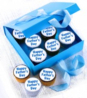 Fathers Day Message Cupcakes Gift Box