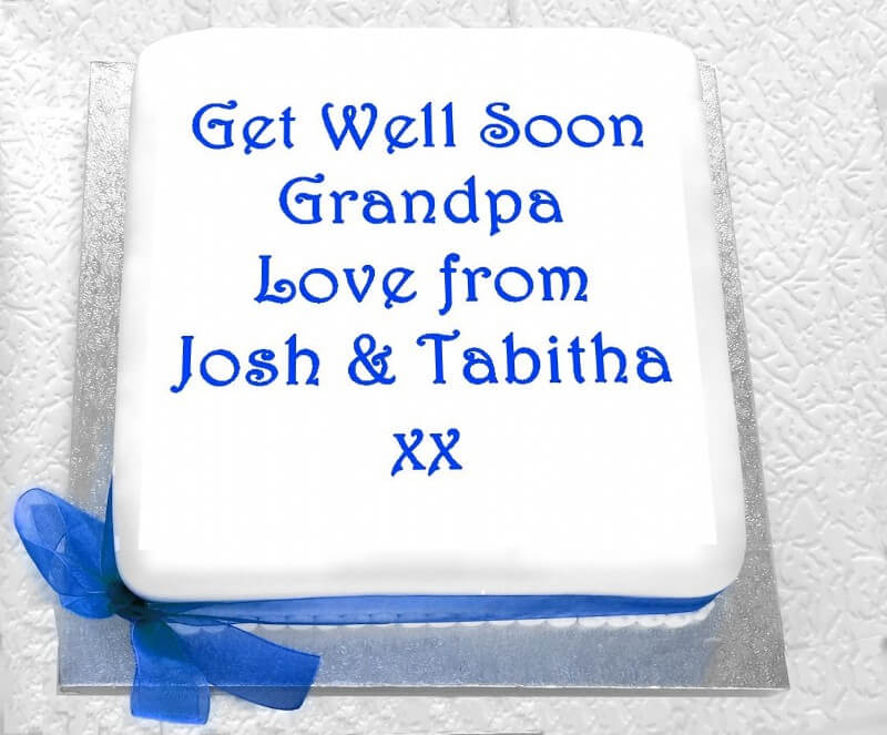 A Get Well Soon Cake