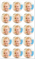 Edible Photo Mini Cupcake Toppers