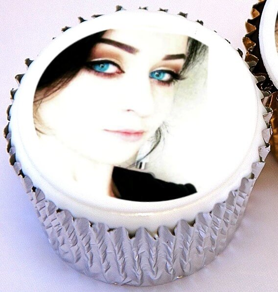 Single personalised photo cupcake - next day delivery