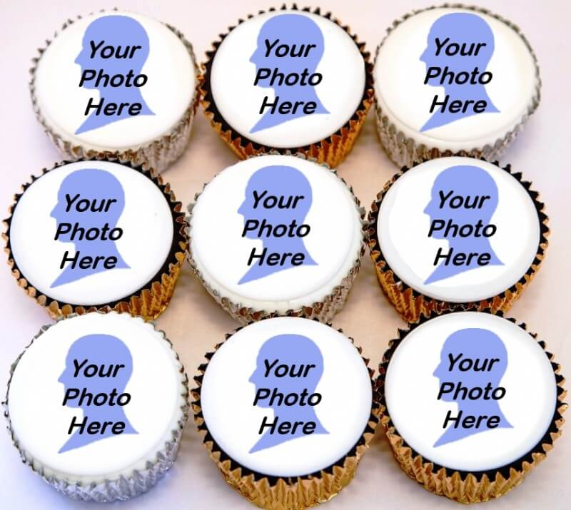 Congratulations Photo Cupcakes