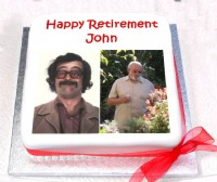 Retirement Photo Cake