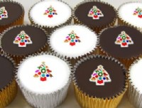 Value Christmas Cupcakes