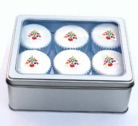 Value Christmas Cupcakes Tin
