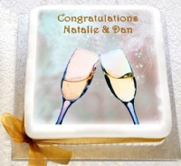Personalised Congratulations Cake