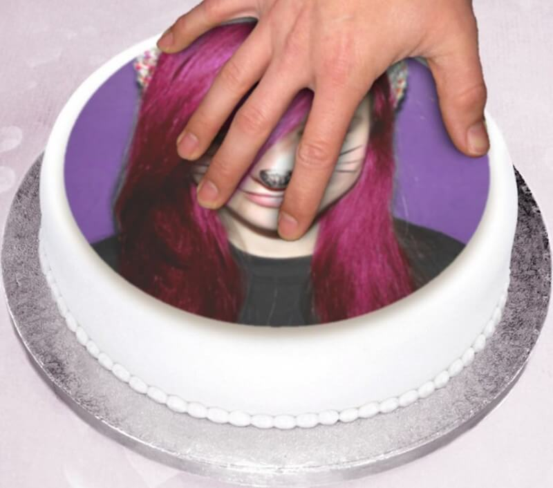 Photo Cake to Decorate Yourself - Round
