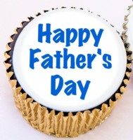 Personal Fathers Day Cupcake
