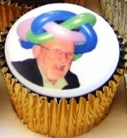 Fathers Day Personal Photo Cupcake
