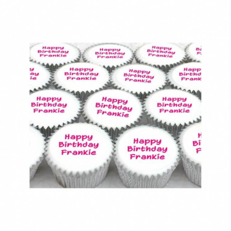 Mini Message Cupcakes (boxes of 25)