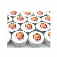 Mini Photo Cupcakes (boxes of 25)