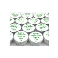 Mini Thanks Cupcakes (boxes of 25)