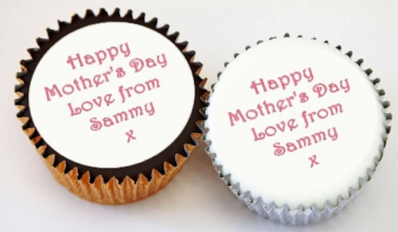 Single Personalised Cupcake