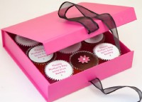 Personalised Mothers Day Cupcakes Gift Box