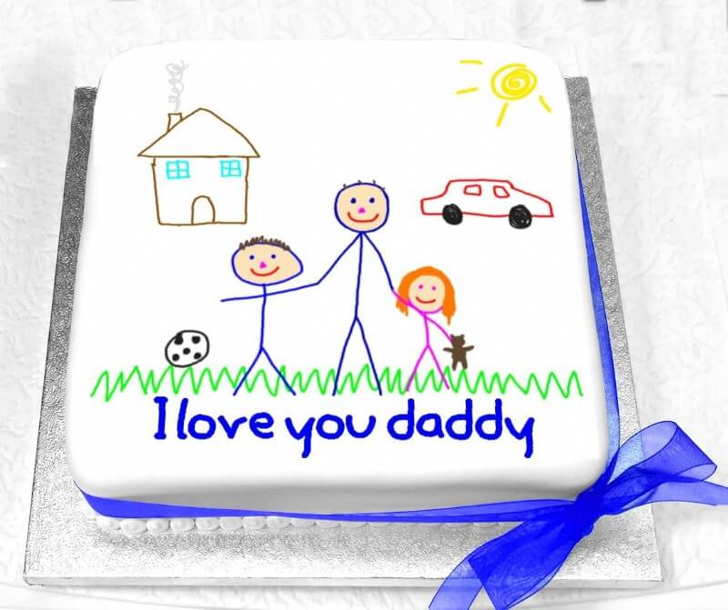 Printed Picture Cake